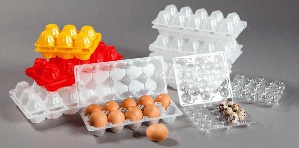 Пластиковый лоток для яиц