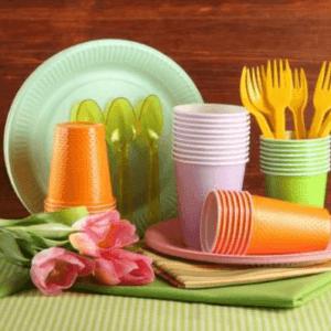 Переваги одноразового посуду і її область застосування
