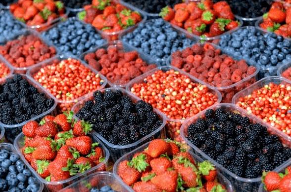 Пластиковые контейнеры для ягод