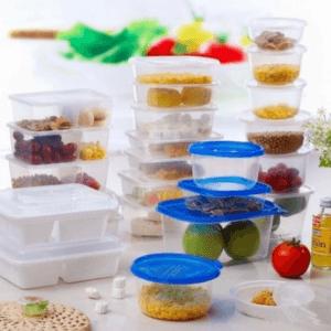 Транспортная упаковка и пластиковая тара для пищевых продуктов